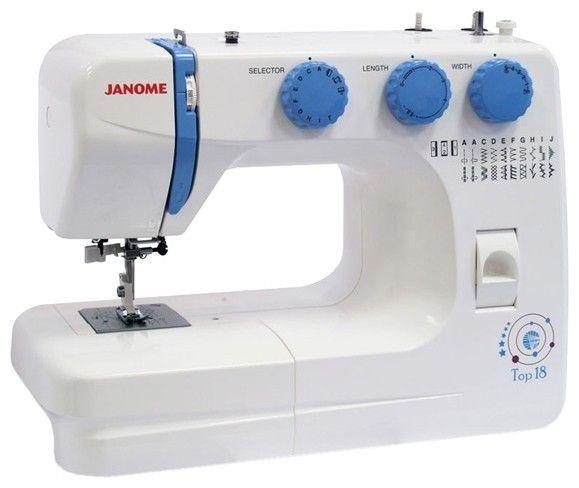 Швейная машина JANOME TOP 18