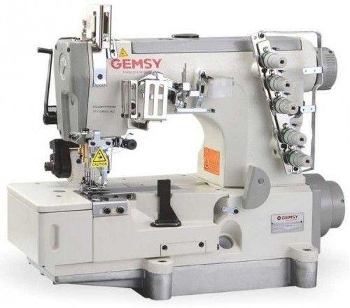Промышленная плоскошовная машина Gemsy GEM 5500D-01