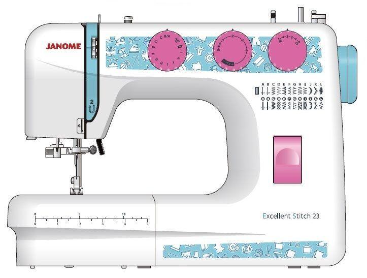 Швейная машина Janome Excellent Stitch 23
