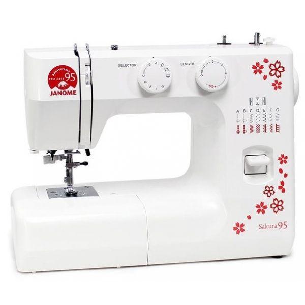 Электромеханическая швейная машина Janome Sakura 95